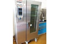 Rational cpc201 Combi Steam Oven Like new with trollys