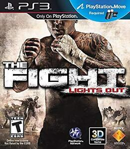 The Fight Lights Out PS3 $10!