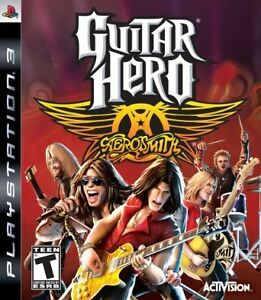 Aerosmith-Guitar Hero for PS3-Excellent condition