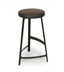 Askersund Bar Stool in Black by Control Brand