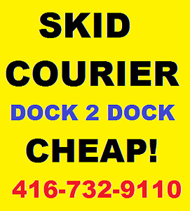 Cheap SKID PALLET Courier Services Same day delivery within GTA