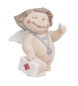 NAO Porcelain by Lladro : CHEEKY CHERUBS : GET WELL SOON 020.05069