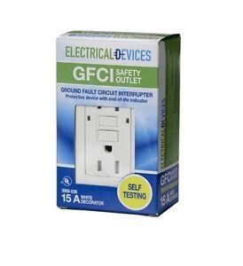 3 - New In Box - 15 Amp GFCI's