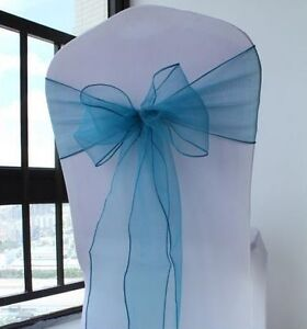 Organza chair sashes/table runner for rent/buy
