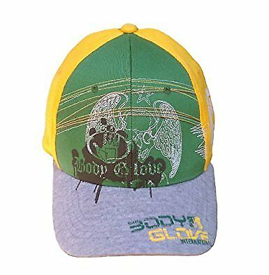 Body Glove Brand Flex Fit Hat - Green, Yellow And Grey](Green And Yellow Gloves)