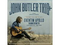 John Butler Trio - Eventim Apollo Hammersmith - 17th October - Circle front row seating - 35£ value