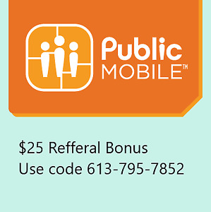 public mobile cell phone plan - see image. only until march 31