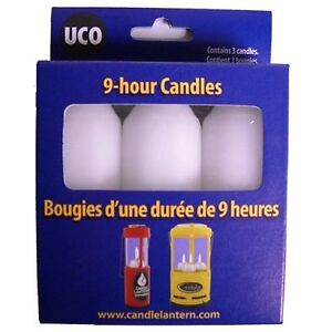 UCO 9 Hour Candle 3 Pack for Original or Candlelier Lanterns