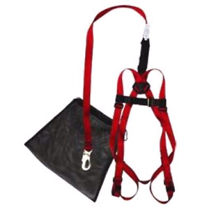 Fall protection full body harness with lanyard *NEW*