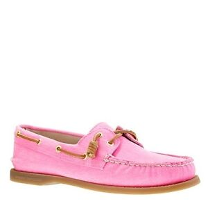 Pink Sperry's For Sale