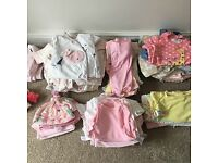 Baby Girl 0-3 clothing Bundle