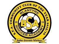 BSA Soccer Academy 03' Golds