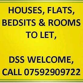 ROOMS & BEDSITS AVAILABLE