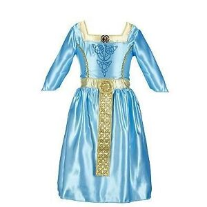 4-6X Disney Pixar Brave Merida Dress Costume Girls 4 6
