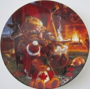 """Collector Plate: """"Toasty Warm"""" Peterborough Peterborough Area image 1"""