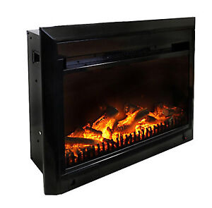 25-inch x 18-inch LED Electric Fireplace Insert