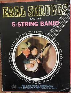 Earl Scruggs and the 5-String Banjo 1968 First Edition