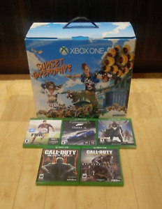 Xbox One (Console, Manette, Power supply, Cable HDMI) + 5 jeux