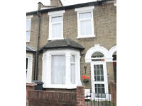 ATTRACTIVE, RECENTLY REFURBISHED TWO-BED HOUSE IN LEYTON E10. Easy for Central Line & Victoria Line.