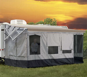 31' Motorhome With 21' Awning Room