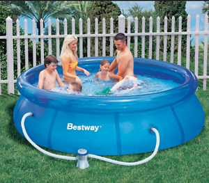 Bestway inflatable wading swimming pool, family size South Perth South Perth Area Preview