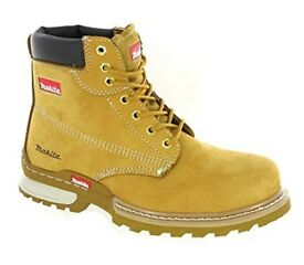 Brand New Makita Scorpion Wheat Steel Toe Cap Work Safety Boot £25