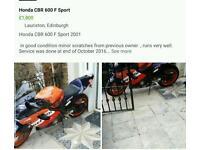 Honda CBR 600 sport