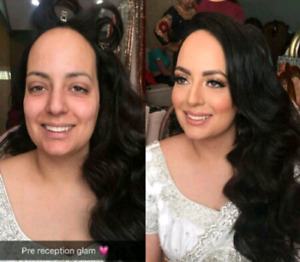 $50up bridal makeup artist and hairstylist