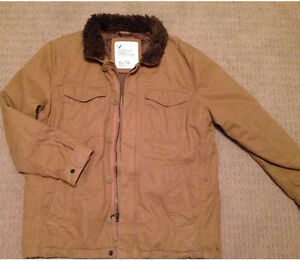 Men's XL American Eagle lined jacket new