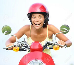 moped/scooter riders