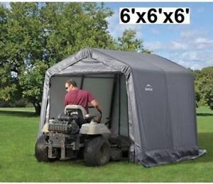 NEW SHELTERLOGIC SHED 6'x6'x6' 70401 189045925 UV TREATED