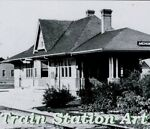 Train Station Art
