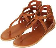 TOPSHOP Brown Sandals