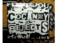 Brand new Cockney Rejects wallet, made by Warrior, Punk Oi!