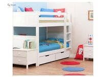 Childrens bunk bed, about 3 years old