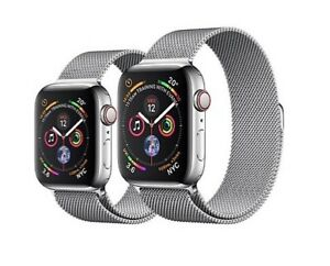 Apple Watch series 4 44mm silver stainless steel