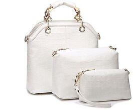 Brand New Three-Piece Hand Bag Set