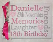 18th Birthday Scrapbook