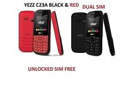 Brand-new Yezz mobile unlocked dual sim