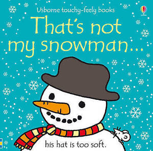 Thats not my Snowman by Fiona Watts FREE POST