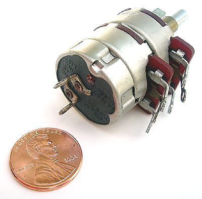 10k 25k Dual Potentiometer With Spst Switch Cts 2