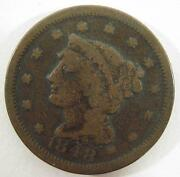 1848 One Cent