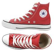 Converse All Star Hi Red