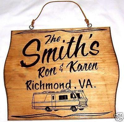 Personalized RV Signs | eBay