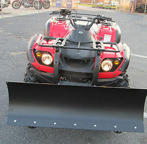 NEW ATV / Quad SNOW PLOWs  4 AND 5 FEET WITH UNIVERSAL MOUNT