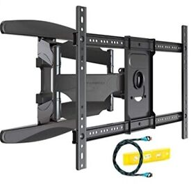 *Brand-new* Ultra Strong TV Wall Bracket Mount Double Arm Tilt & Swivel