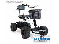 Titan Elite Lithium Golf Buggy 18-27 hole FOR SALE