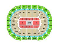 2 x ANTHONY JOSHUA BOXING TICKETS SAT 10TH DEC GOOD SEATS LOWER TIER £300 THE PAIR