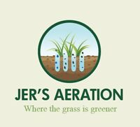 Lawn aerating grass  core Aeration SPRING SPECIAL $40