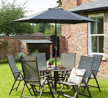 garden furniture 6 seater sets
